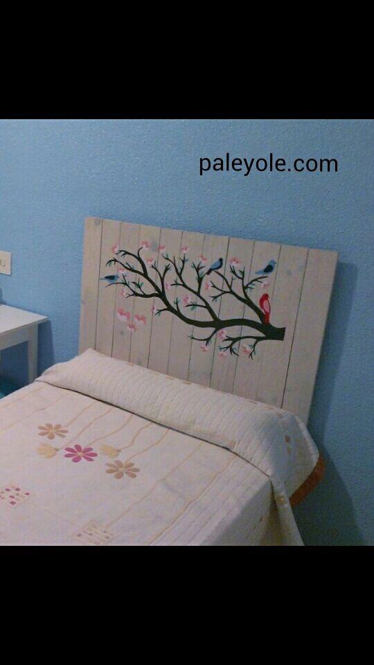 Mejores 11 imágenes de Cabeceros de cama en Pinterest | Cabeceros ...