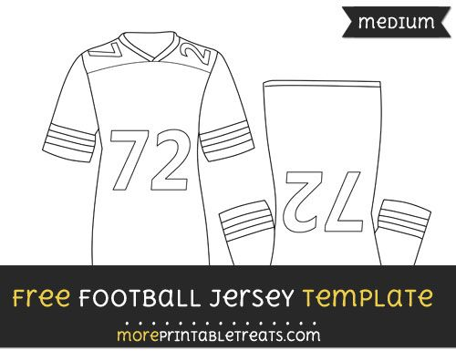 photograph regarding Football Jersey Template Printable titled No cost Soccer Jersey Template - Medium Designs and