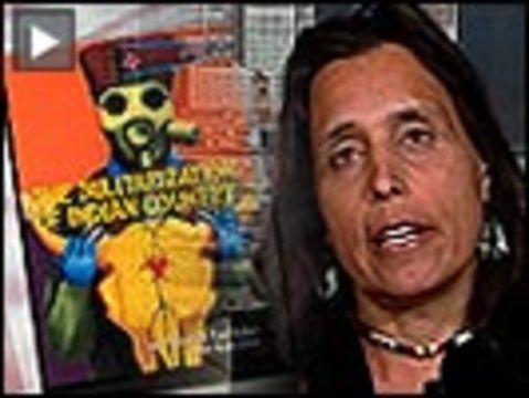 """Native American Activist, Author Winona LaDuke on ""'The Militarization of Indian Country' & Obama Admin's 'Lip Service' to Indigenous Rights"" -Winona LaDuke  6May 2011 via DemocracyNow! reporting"