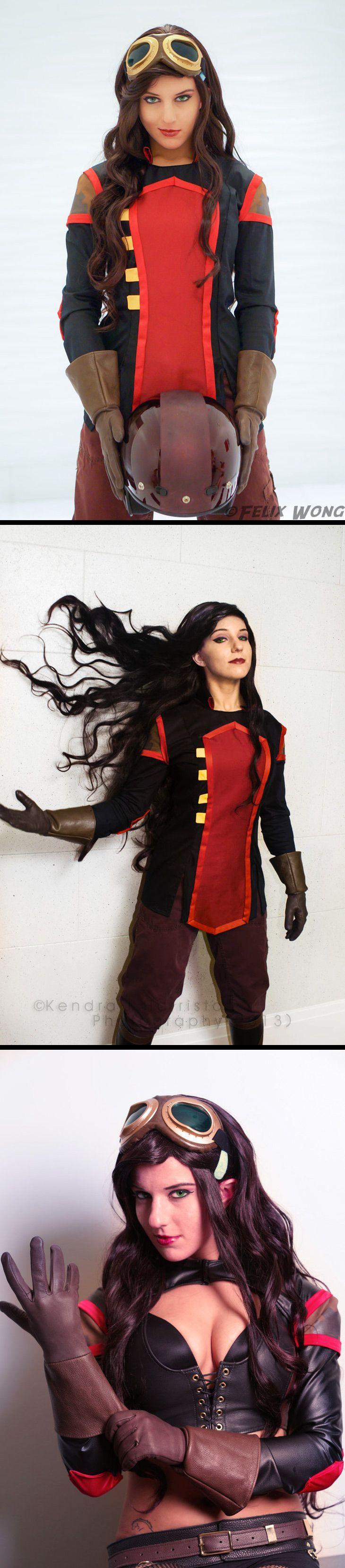 Asami Sato #cosplay - Avatar: Legend of Korra