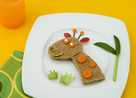 : Idea, Creative Food, Giraffe Sandwich, For Kids, Sandwich Recipes, Kids Food, Giraffes