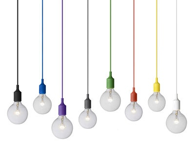 E27 Suspension by Muuto £55 Love the simply yet bold colour!