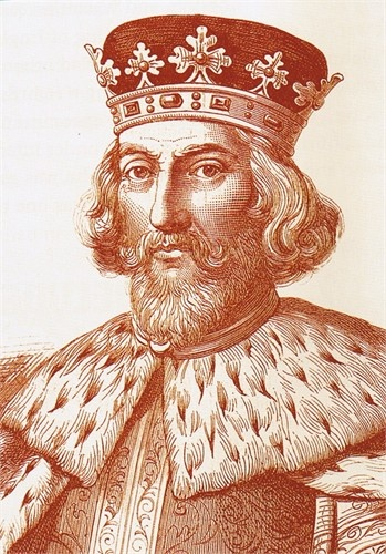 King John I Lackland 1127-1216. Fourth child of Henry II and brother of Richard l Lionheart.  Responsible (reluctantly) for the Magna Carta (Great Charter) giving justice to all.