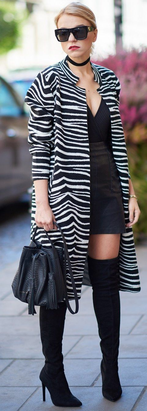 Zebra Print + Black                                                                             Source