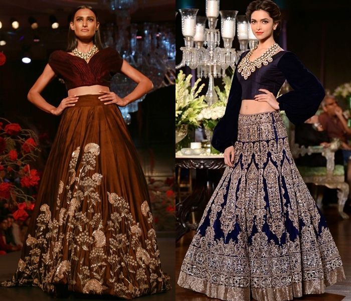 21 Incredible Lehenga Blouse Designs From Manish Malhotra Keep Me Stylish Lehenga Blouse Designs Indian Fashion Designers Blouse Models