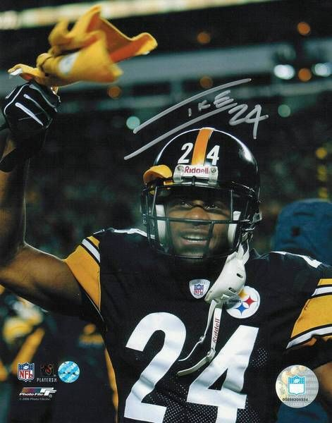 Ike Taylor Pittsburgh Steelers Autographed 8x10 Photo
