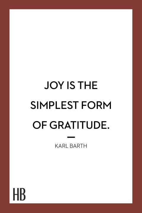 """""""Joy is the simplest form of gratitude."""" Click through for more Thanksgiving quotes."""