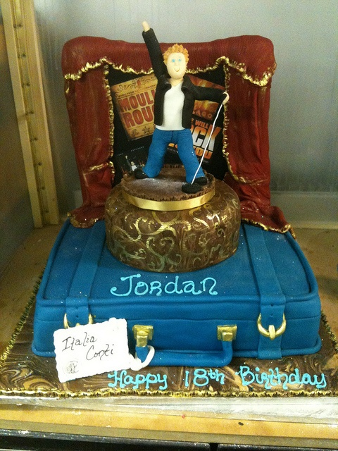 On Stage cake