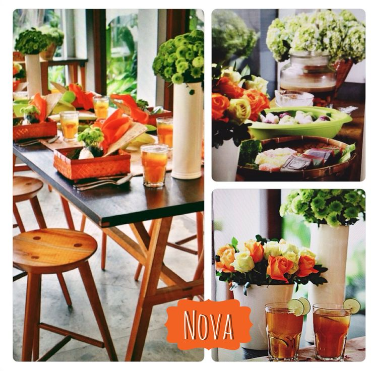 #TableSetting for #TabloidNova Ramadan Issue. Tangerine colour reflects sunset ambience as a sign of breakfasting. photograph by Adrianus Adrianto