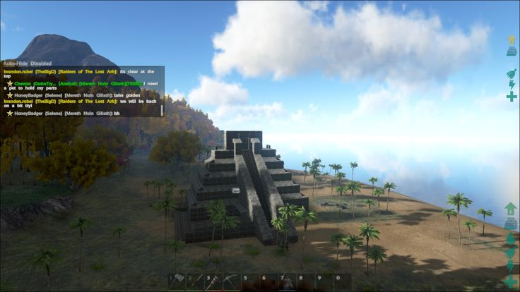 ARK: survival evolved - myan pyriamid built by steam user honeybadger