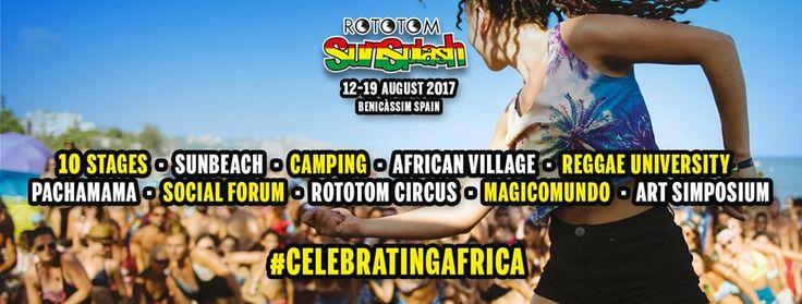 Rototom Sunsplash 2017  #Benicassim #Reggaefestival #rototom2017 #RototomSunsplash #RototomSunsplash2017 #summerfestival #waitingrototom