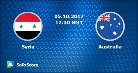 watch live football matches online free | #FIFAWorldCup | Syria Vs. Australia | Livestream | 05-10-2017