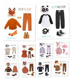 Simple DIY ideas. Easy, fun, dress up Animal costume ideas!