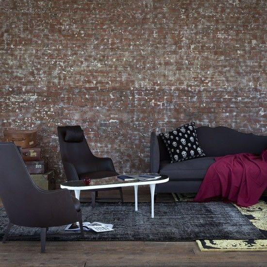 Gothic living room | Modern living room ideas | housetohome.co.uk