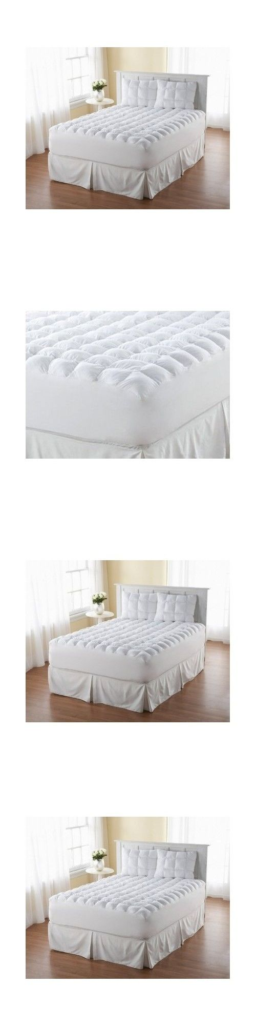 Mattress Pads and Feather Beds 175751: California King Cal Pillow Top Mattress  Topper Matres Pad