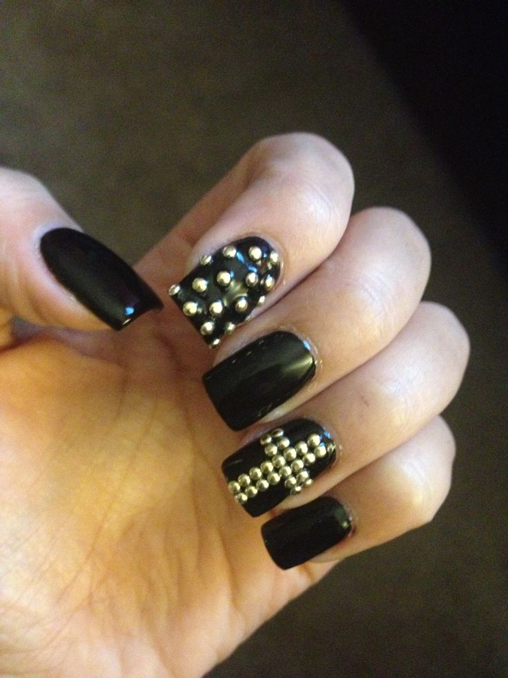 58 best Nails ♡ GOTHIC ♡ images on Pinterest | Goth makeup, Gothic ...