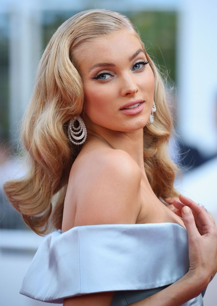 Elsa Hosk - Cannes 2017 - Cannes 2017 - old hollywood - glamour makeup - party makeup