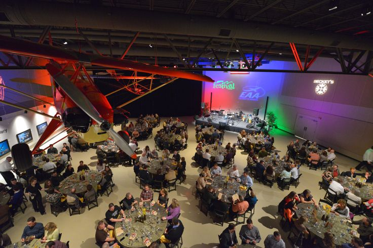 Hops & Props 2014 VIP Dinner Festival Foods, Founder's Wing, EAA Airventure Museum #EAA #Oshkosh #Wisconsin