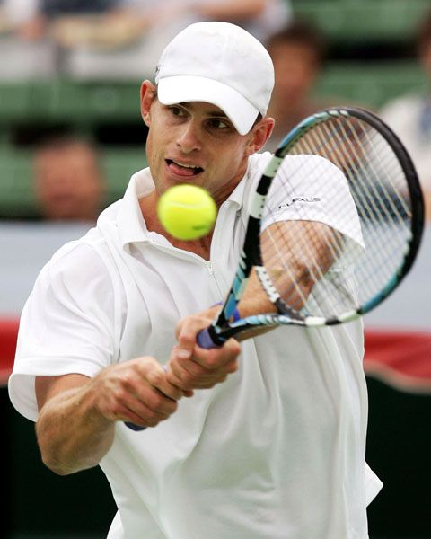 Andy Roddick  Retired Number 1 Professional Tennis Player
