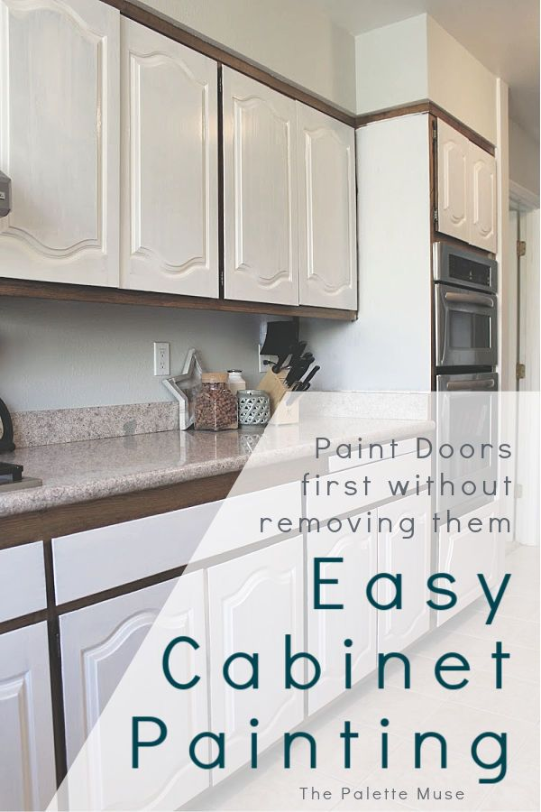 The Best Way To Paint Kitchen Cabinets No Sanding Painting Kitchen Cabinets Diy Kitchen Cabinets Painting Diy Kitchen Remodel