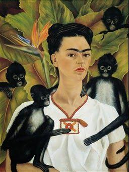 Frida e tanta voglia di #Messico #FridaKahlo #Mostra #ScuderieDelQuirinale #Roma #2014 #Autoritratto #Scimmiette  Approfondimento su Glob-Arts: http://glob-arts.blogspot.it/2014/05/frida-e-tanta-voglia-di-messico-scuderie-quirinale-roma-mostra.html #Chenepensate? #Cisietestati?