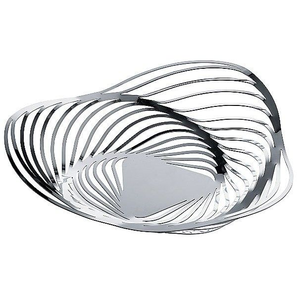 Alessi Trinity Fruit Bowl ($220) ❤ liked on Polyvore featuring home, kitchen & dining, serveware, metallics, alessi, fruit bowl, fruit holder, alessi fruit bowl and fruit bowls