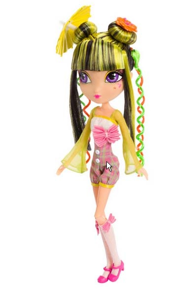 La Dee Da Doll - Tylie as Kabuki