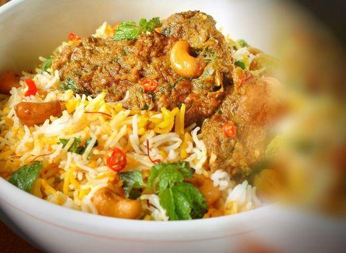 Indian Chicken Dum Biryani