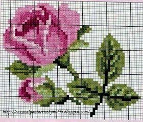 Güzel kalp hileler: Çapraz Dikiş: Güller tarzı perişan şık ... ve sadece (toplama programları)