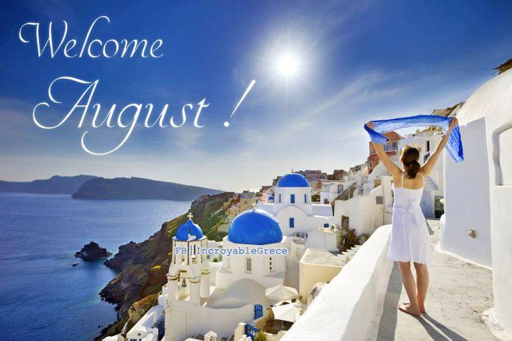 Happy August !
