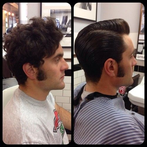 no sideburns haircut unnamed model with sideburns before and after 3041 | 4109f0951591f7329414c9aee94f6a7b