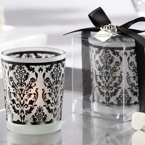 Damask Glass Tealight Holder: Tea Light Holder, Damasks, Wedding Favors, Wedding Ideas, Tealight, Frosted Glass, Damask Tradition, Tea Lights