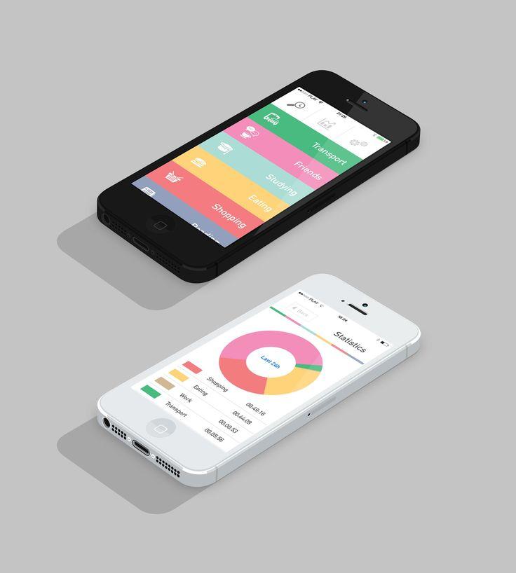Cap Time - mobile app design