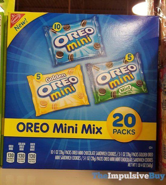 Nabisco Oreo Mini Mix
