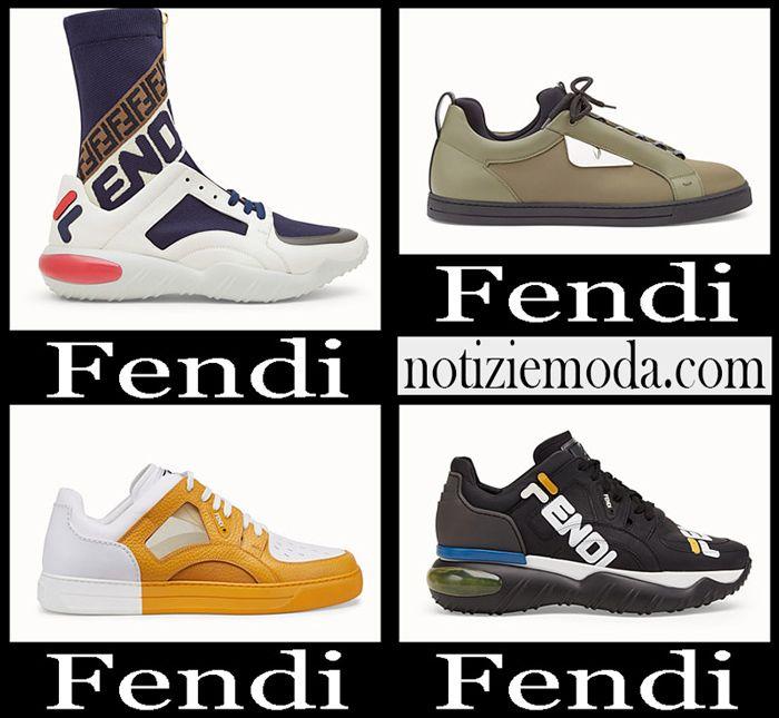 Sneakers Fendi autunno inverno 2018 2019 uomo nuovi arrivi
