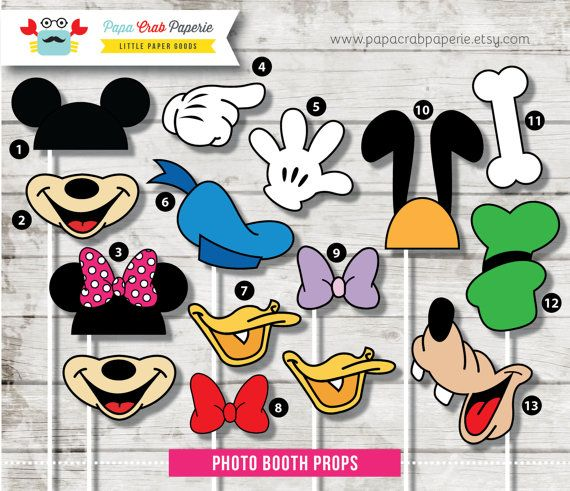 Instant Download / 37 Pieces Disney Inspired by PapaCrabPaperie, $14.99