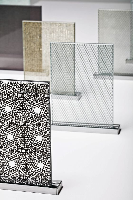 So transparent: Nya Nordiska's innovative 'Tex Glass' range consists of specially selected fabrics laminated on both sides with ultra-clear diamond glass