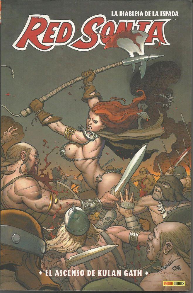 Red Sonja 3 El ascenso de Kulan Gath Panini Cómics