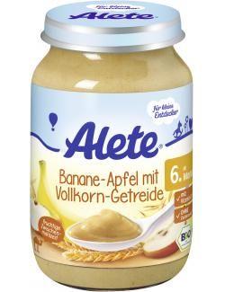 myTime.de Angebote Alete Banane-Apfel mit Vollkorn-Getreide: Category: Baby > Babynahrung > Früchte & Getreide Item number:…%#lebensmittel%