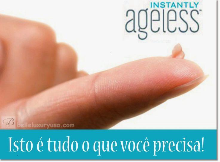 Você precisa do Instantatly Ageless! Solicite atrevés de www.jeunesseforever.com.br