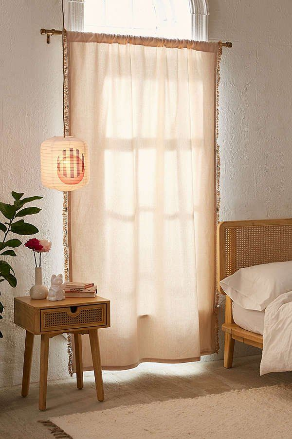 Emma Blackout Fringe Window Curtain 119 best