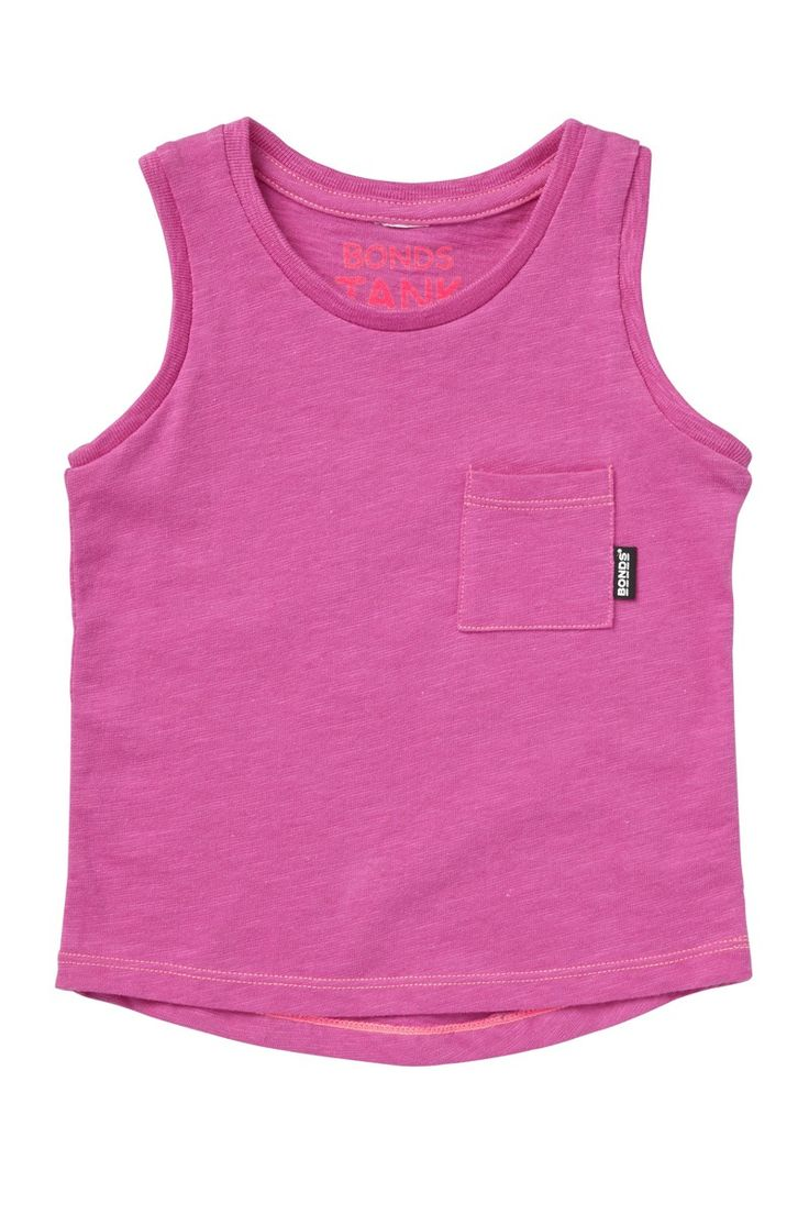 Bonds pink tank. A great basic piece for summer.