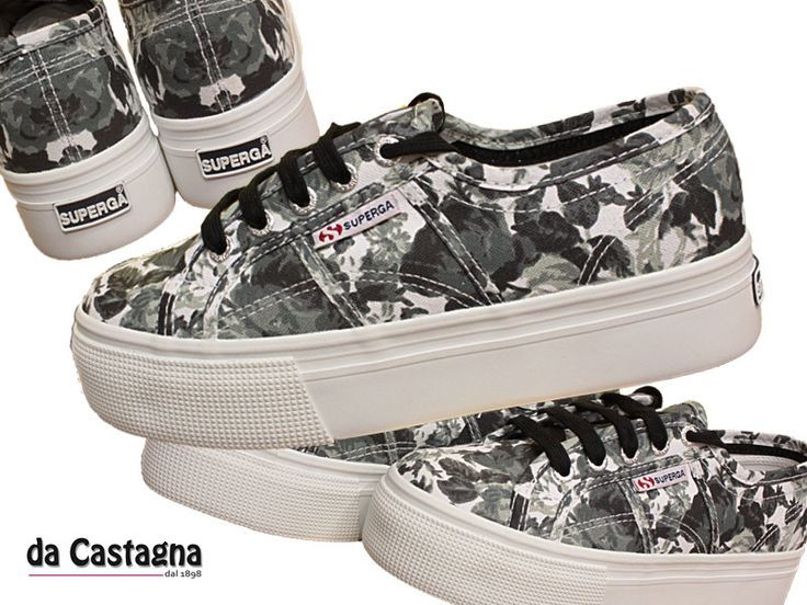 superga - new collection - zeppa - plus cotu - spring summer - available on www.abbigliamentodacastagna.it