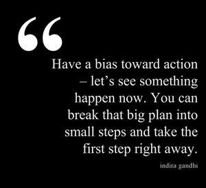 Indira Gandhi - Action