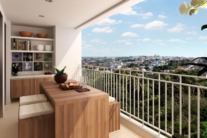 Varandas Gurmet, tendência do mercado imobiliário que procura transformar os apartamentos em um espaço de lazer também, substituindo, assim, os clubes.