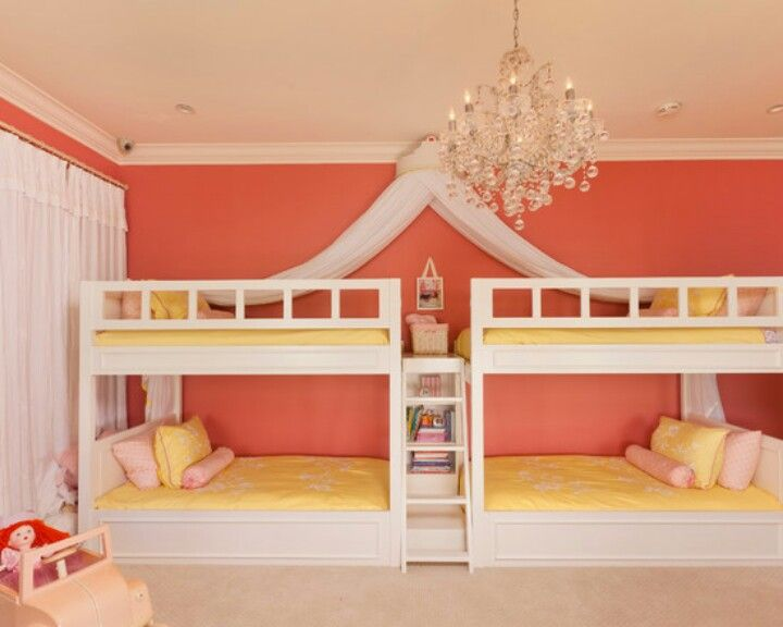77 best twin bunk and loft beds images on pinterest for Cute bunk bed rooms