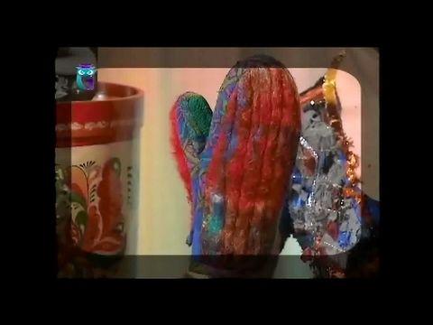"""Выставка """"Искусство куклы"""". Часть 1. Шьем стильные варежки. Мастер класс - YouTube"""