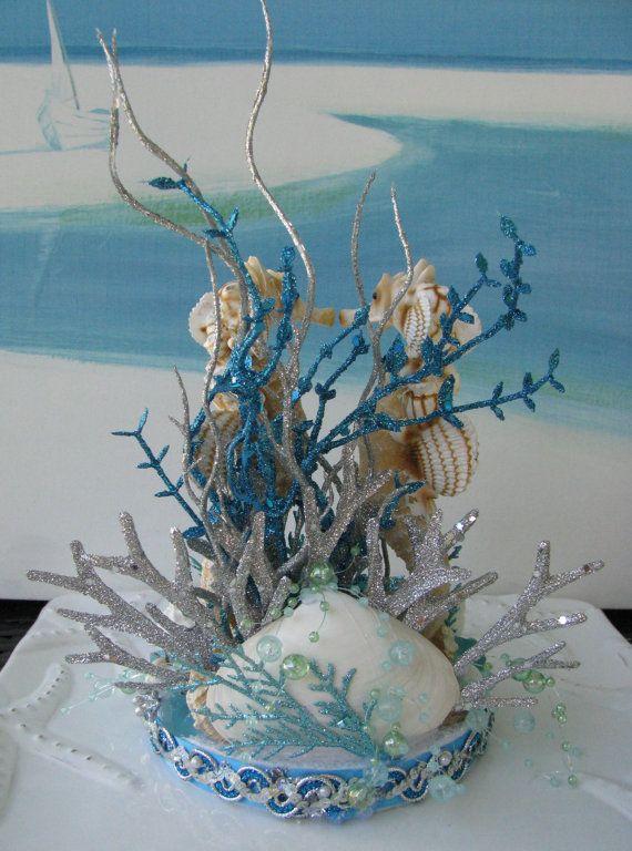 Pastel de cumpleaños de Caballito de mar  por CeShoreTreasures