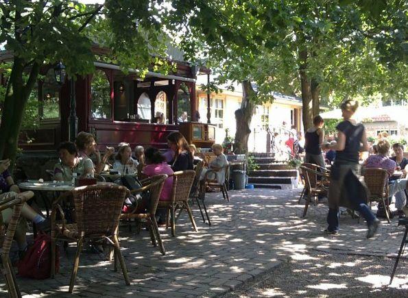 Lunch | Cafe Du Midi Delfgauw, is ook tussen het groen