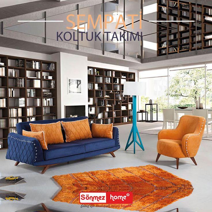 Sadeliği ve zarifliği ile Sempati Modern Koltuk Takımı sizin için tasarlandı! #Modern #Furniture #Mobilya #Sempati #Koltuk #Takımı #Sönmez